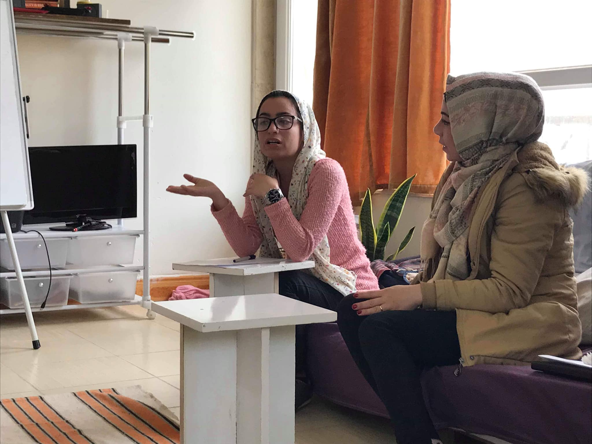 Participants in the 2019 Dohuk pilot, held in partnership with Youth Speak.